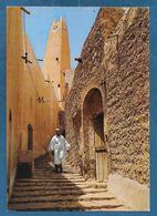 ALGERIE GHARDAIA RUE PITTORESQUE ET MINARET UNUSED - Ghardaia