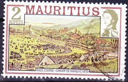 Mauritius - Pferderennen Auf Dem Champ De Mars (Mi.Nr.: 450 I X A) 1978 - Gest. Used Obl. - Maurice (1968-...)