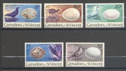 Saint-Vincent & Grenadines, Yvert 165/167, Réimpression, Reprint, 1979, MNH - St.Vincent & Grenadines