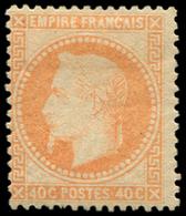 * EMPIRE LAURE - 31   40c. Orange, TB. C - 1863-1870 Napoléon III Lauré