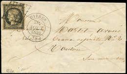 Let OBLITERATIONS PAR DEPARTEMENTS - 78/VAR N°3 Obl. GRILLE S. LSC, Càd T14 HYERES 26/8/49, TTB - Postmark Collection (Covers)