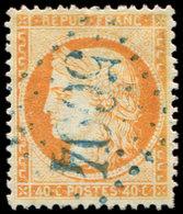 BUREAUX FRANCAIS A L'ETRANGER - N°38 Obl. GC BLEU 5094 De RHODES, Une Dc, Sinon TB - Marcophilie (Lettres)