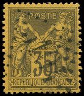 BUREAUX FRANCAIS A L'ETRANGER - N°93 Obl. GC 5105 De SHANG-HAI, TB - Marcophilie (Lettres)