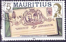Mauritius - Königlicher Besuch, 1901; Ganzsache Von Mauritius (Mi.Nr.: 452 II X A) 1985 - Gest. Used Obl. - Maurice (1968-...)