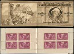 CARNETS (N°Cérès Jusqu'en1964) - 141  Sourire De Reims, Infimes Adh., Sinon TB - Carnets