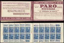 CARNETS (N°Cérès Jusqu'en1964) - 153  Jeanne D'Arc, 50c. Bleu, N°257, T I, S. Provins II, PARO, TTB - Carnets
