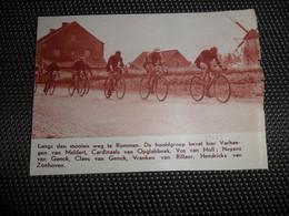 """Origineel Knipsel ( 1931 ) Uit Tijdschrift """" Ons Land """" 1933  :  Koers  Rummen  Molen  Moulin - Vecchi Documenti"""