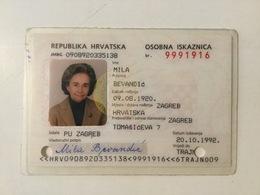 ID   CROATIA   1992 - Historische Dokumente