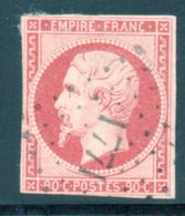 Napoléon III / N° 17A Cachet Petits Chiffres 1771 - 1853-1860 Napoleon III