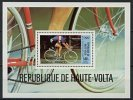 Haute-Volta, BF N° 17** Y Et T, Bloc-feuillet, J.O. Moscou, Cyclisme, 1980, Bondue Vainqueur - Haute-Volta (1958-1984)