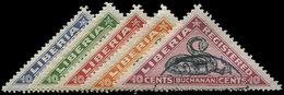 CAMBODGE Timbres Pour Lettres Chargées 25/29 : La Série Obl., TB - Cambodge
