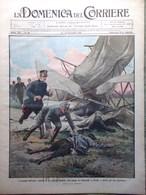 La Domenica Del Corriere 11 Dicembre 1910 Perroncito San Camillo A Roma Capetown - Libri, Riviste, Fumetti