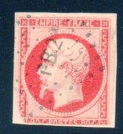 Napoléon III / N° 17A Cachet PB2 - 1853-1860 Napoleon III