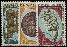 POLYNESIE FRANCAISE 52/59 : Arts Des Iles Marquises, TB - Polynésie Française
