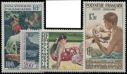 ** POLYNESIE FRANCAISE PA 1/4 : La Série, TB - Poste Aérienne