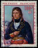 POLYNESIE FRANCAISE PA 31 : Napoléon 1er, 100f., Obl., TB - Poste Aérienne