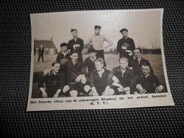 """Origineel Knipsel ( 1939 ) Uit Tijdschrift """" Ons Land """" 1933  :  Blauberg ( Aarschot )  Voetbal - Old Paper"""