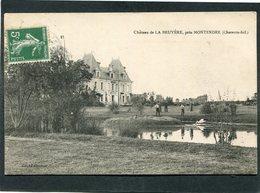CPA - Château De LA BRUYERE Près MONTENDRE, Animé - Montendre