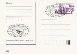 I0544 - Tschechoslowakei (1990) Suchdol Nad Odrou 1: Tschechoslowakischer PONY EXPRESS - Post