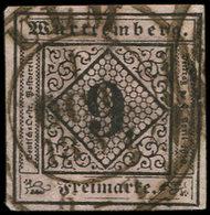 ALLEMAGNE (ANCIENS ETATS) WURTEMBERG 4 : 9k. Rose, Obl. ULM 1/10/57, TB - Wurtemberg