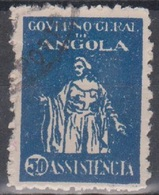 Angola Zwangszuschlagsmarke 1929 Caritas 50 C Gestempelt - Angola
