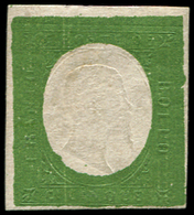 (*) ITALIE (ANCIENS ETATS) SARDAIGNE 7a : 5c. Vert Foncé, NON EMIS, TB - Sardaigne
