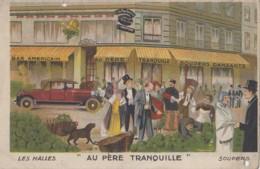 """Paris 75 - Restaurant Bar """"Au Père Tranquille"""" - Châtelet Les Halles - Automobile - Enseigne Escargot - Cafés, Hôtels, Restaurants"""