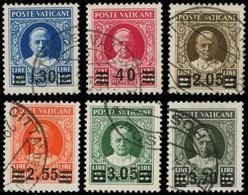 VATICAN 60/65 : Pie XI, La Série, Obl., TB - Vatican
