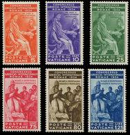 ** VATICAN 66/71 : Congrès Juridique, La Série, TB - Vatican