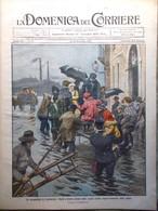 La Domenica Del Corriere 18 Dicembre 1910 Mary Baker Eddy Emmy Destinn Chartres - Libri, Riviste, Fumetti