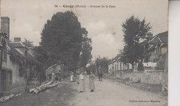 CONGY   AVENUE DE LA GARE - Altri Comuni