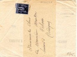 Sage 1 C 4 Exemplaires Sous Bande - Marcophilie (Lettres)