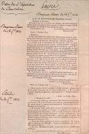 Le Baron Lainé Et D'Ordre Du Saint-Sépulchre - Historical Documents