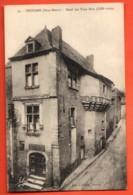VAO-35 Thouars Hotel Des Trois Rois. Non Circulé, Tampon Au Dos - Thouars