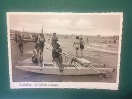 Cartolina Cattolica - La Ridente Spiaggia - 1950ca. - Rimini