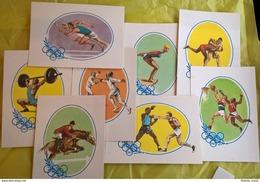 OLIMPIADI 1960-LE 3 SERIE DI CARTOLINE - Giochi Olimpici