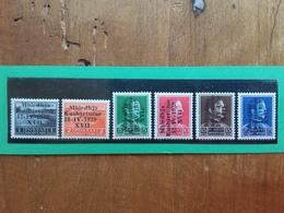 OCCUPAZIONE DELL'ALBANIA 1939 - Assemblea Costituente Nn. 284/89 Nuovi * Incompleta + Spese Postali - 9. Occupazione 2a Guerra (Italia)