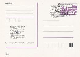 I0547 - Tchécoslovaquie (1990) Mnisek Pod Brdy: PONY EXPRESS Tchécoslovaque - Post