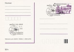 I0547 - Tschechoslowakei (1990) Mnisek Pod Brdy: Tschechoslowakischer PONY EXPRESS - Post