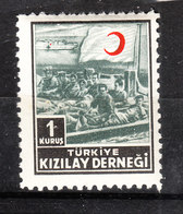 Turchia - 1953. Beneficenza. Pro Croce Rossa. Charity And Relief. Pro Red Cross. MNH - Croce Rossa