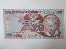Tanzania 20 Shilingi 1986 Banknote UNC - Tanzania