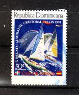 Rep. Dominicana - 1991. Regata A. Colombo. Amiral Colombo Regatta. - Vela
