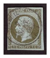 Timbre N° 11 Obl. - 1853-1860 Napoléon III.