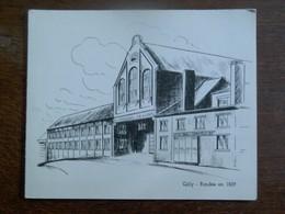 Oude Wenskaart 1967  GILLY - Charleroi