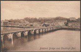Bideford Bridge And Chudleigh Fort, Devon, C.1910 - Frith's Postcard - England
