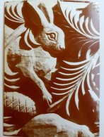 #532  Wood Carving, Detail From ''The Tree Of Life'', Craft, Animals - Postcard - Artisanat
