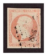 Timbre N° 16  Obl. - 1853-1860 Napoléon III.