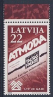 "Lettland Latvia Latvija 2008 Mi 742 ** Newspaper ""Atmoda""  Of Latvian Popular Front / Zeitung Lettischen Volksfront - Lettonie"