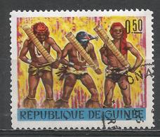 Guinea 1966. Scott #407 (U) Behore Musicians Of Tiekere Playing ''Eyoro'' * - Guinée (1958-...)