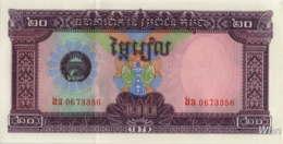 Cambodia 20 Riels (P31) 1979 -UNC- - Cambodge